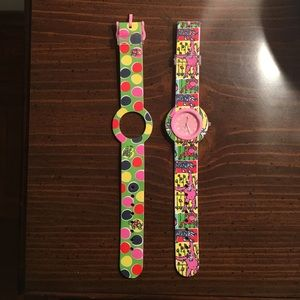 Lilly Pulitzer watch with interchangeable band