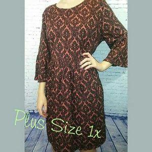 Simply Be Dresses & Skirts - Bohemian bell sleeve dress