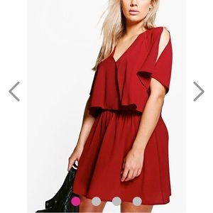 Boohoo Plus Dresses & Skirts - Boohoo Plus open shoulder dress