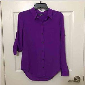 NWOT Madewell silk shirt