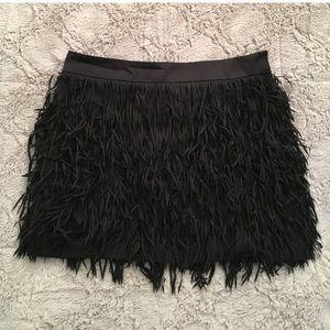 Express Dresses & Skirts - Black frill skirt | Size: 0