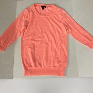 J. Crew Sweaters - 100% Merino Wool J. Crew Peach Sweater
