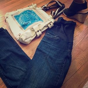 Motherhood Denim - Maternity Blue Jean size XS straight leg