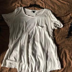 Isabel Marant pour H&M Tops - Oversized Tshirt White