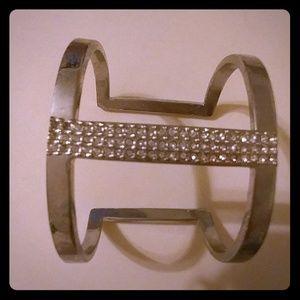 Vince Camuto Jewelry - Bangle with diamond lik stones