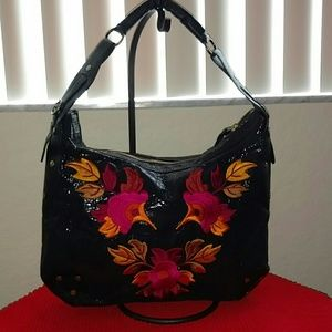 J. Renee Handbags - J. Renee Embroidered Floral Design