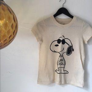 Madewell x Peanuts Joe Cool Tee XXS