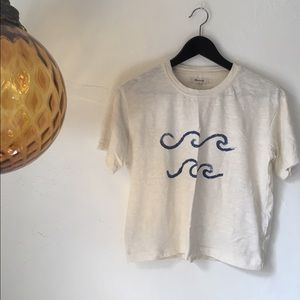 Madewell Waves Tee XS