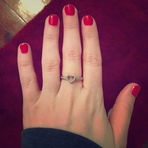 Zales Jewelry - Heart ❤️ diamond ring