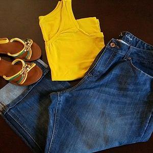Merona Denim - 🎉🎉Host Pic 04/03🎉🎉 Merona Crop Blue Jeans