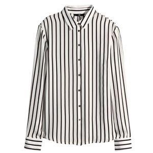 striped H&M blouse