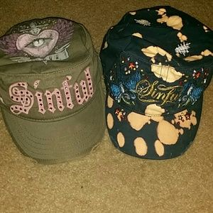 Sinful Accessories - Set of two Sinful hats