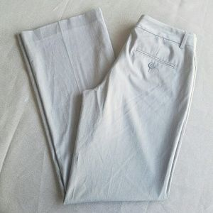 Express Pants - Express Light Grey Editor Slacks