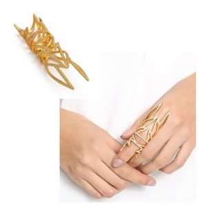 Eddie Borgo Jewelry - Eddie Borgo hinged knuckle ring 6