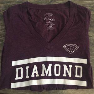 Diamond Supply Co. Tops - Diamond Supply Co. V-neck Tee