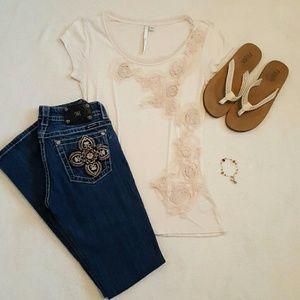 LC Lauren Conrad Tops - Lauren Conrad dressy tee shirt