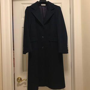 Jackets & Blazers - Navy blue wool coat!