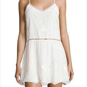 Tularosa Dresses & Skirts - Tularosa London Eyelet Trim slip dress