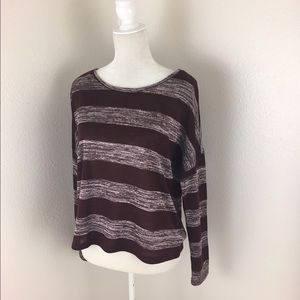 Forever 21 Striped Long Sleeve Tee