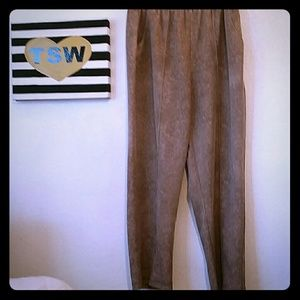 haband Pants - HABAND brown vintage pants