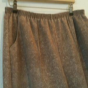 haband Pants - HABAND brown vintage pants