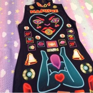 Dresses - NYMPHA SLOT MACHINE DRESS SZ LARGE WORN ONCE RARE
