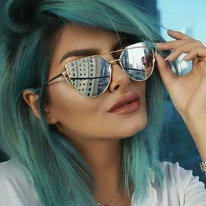 SUNNIES SALE!!!Cat Eye Mirror Sunglasses
