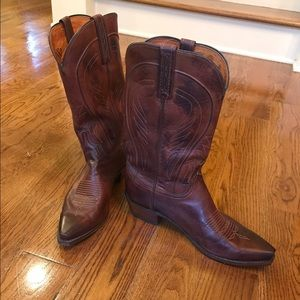 Lucchese Other - 1883 Lucchese Men's 9.5 Western Boots like new