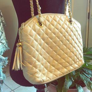 Handbags - Vintage quilted leather handbag