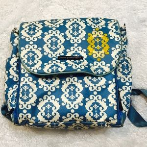 Petunia Pickle Bottom Other - Petunia Pickle Bottom boxy backpack blue