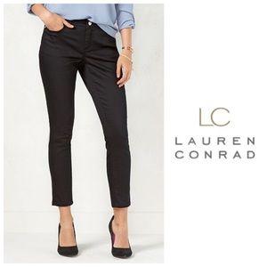 LC Lauren Conrad Denim - LC Lauren Conrad Black Jeggings NWT