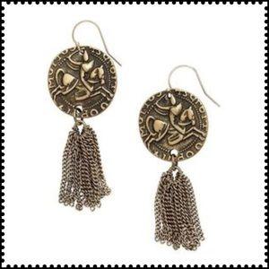 Silpada Jewelry - Silpada coin tassel earrings