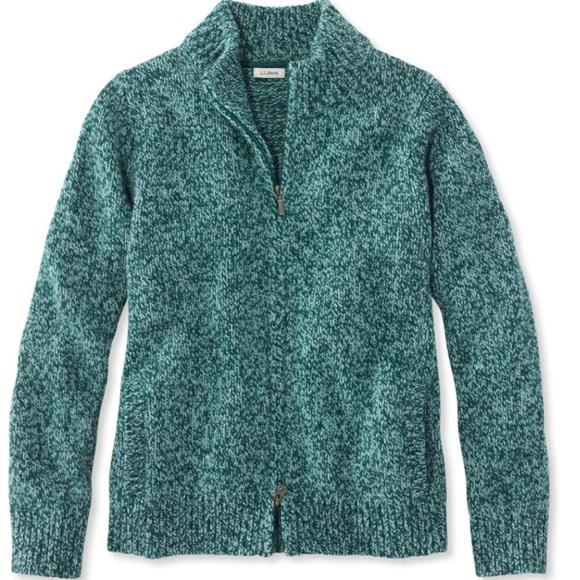 L.L. Bean Sweaters - L.L. Bean Classic Ragg Wool Sweater 81c5aac0b81