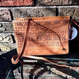 The Sak Handbags - The Sak Cutout Tan Crossbody