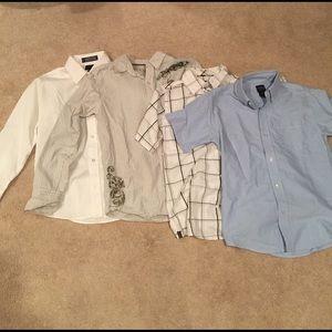Boys + Arrows Other - Boys Long and short sleeve dress shirts