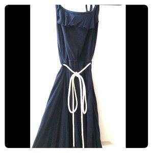 Heritage 1981 Dresses & Skirts - Navy blue halter top dress