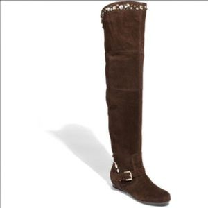 Apepazza Shoes - Over the Knee Boot size 8.5 Apepazza 'Gemma brown