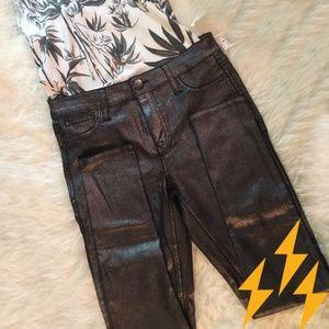 Denim - ⚡️FLASH SALE ⚡️ Metallic grey jeans
