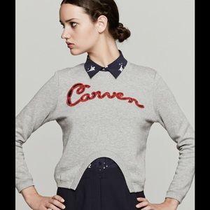 Carven Tops - Carven  Gray Sweatshirt