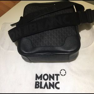 Montblanc Other - Men's Montblanc small messenger bag !