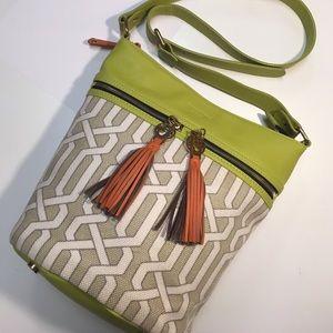 Spartina 449 Handbags - Spartina 449 Veranda Zipper Shoulder Bag