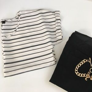 The Limited Tops - {The Limited } striped top