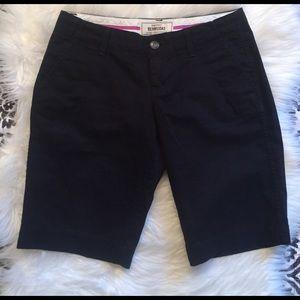 Old Navy Pants - Old Navy perfect Bermudas favorite khakis black 0