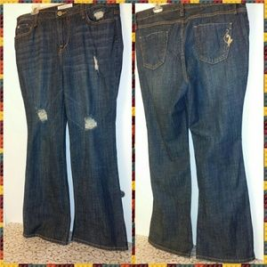 Baby Phat Denim - Phat Fashions Silver Label Denim Bootcut Jeans