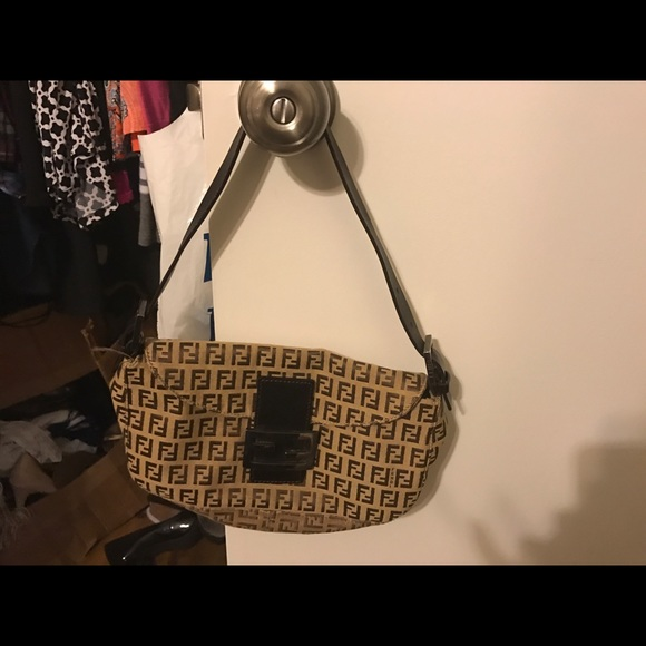 998b98e9379 Fendi Bags | Authentic Vintage Zucchino Hand Bag | Poshmark