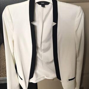 Mossimo Black Jackets & Blazers - Tuxedo look blazer