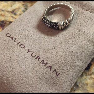 David Yurman Jewelry - David Yurman Blue Sapphire Cable Candy Metro Ring