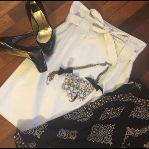 Cynthia Steffe Dresses & Skirts - Cynthia Steffe Tan Skirt Size 6