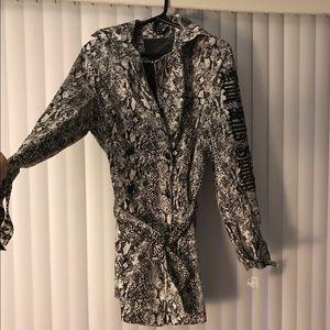 Ed Hardy trench coat jacket  ❤️
