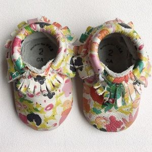 Freshly Picked Pin The Petal Moccasins